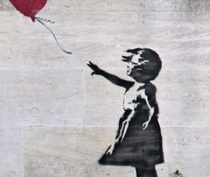Banksy 'WOWS@ Artroom work!