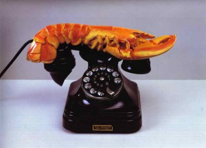 Day 3: Lobster Telephone - Salvador Dali 1936