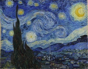 Day 22: The Starry Night - Vincent van Gogh 1889