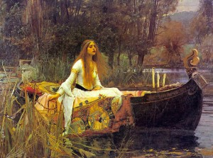 Day 5: The Lady of Shalott - John William Waterhouse 1888