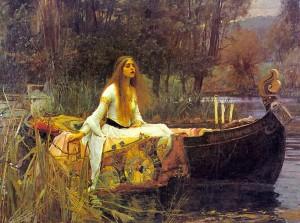 Day 5: The Lady of Shalott - John William Waterhouse 1888