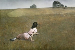 Day 1: Christina's World - Andrew Wyeth 1948
