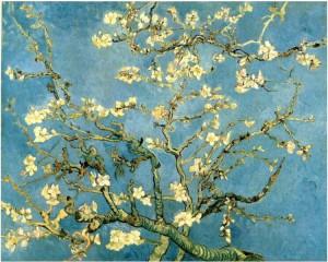 Day 6: nAlmond Blossom - Vincent van Gogh 1980