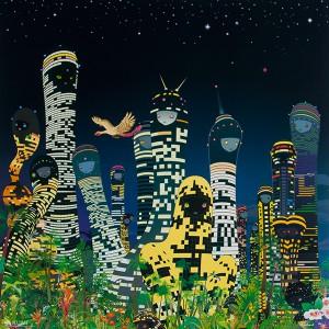 Day 17: City Glow - Chiho Aoshima 2005