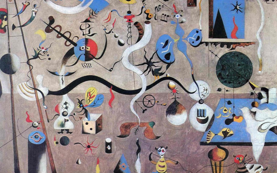 Artroom pupils to help illustrate a Thames & Hudson book on Miró!