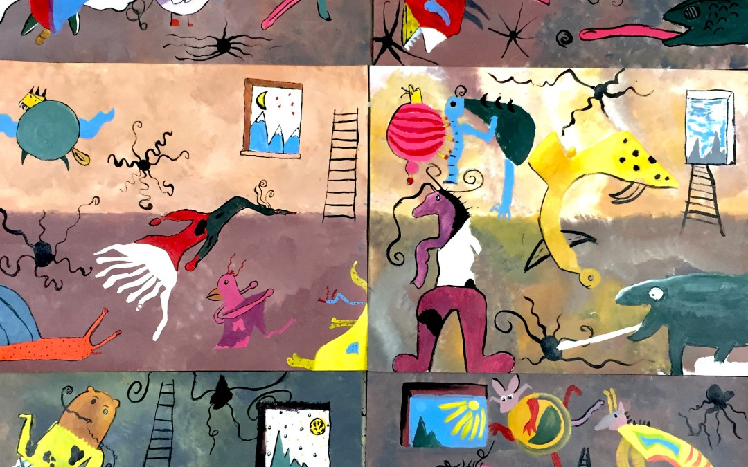 Thames & Hudson Miró workshop: the results!