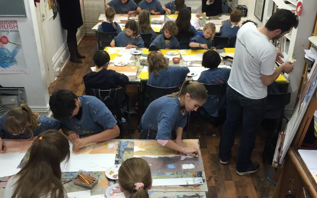 What happens at an Artroom Workshop?
