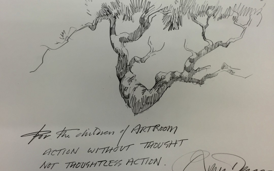 Roger Dean's message to Artroom!