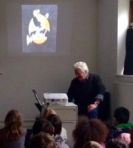 Roger Dean visits Artroom